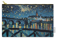 Mestreechter Staarenach Staryy Night Maastricht Carry-all Pouch by Nop Briex
