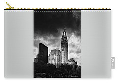 Carry-all Pouch featuring the photograph Met-life Tower by Marvin Spates