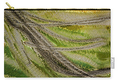 Metal Abstract Two Carry-all Pouch