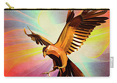 Metal Bird 1 Of 4 Carry-all Pouch