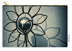 Metal Flower Carry-all Pouch by Dave Bowman