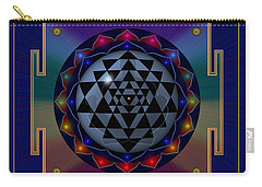 Metal Mandala Carry-all Pouch