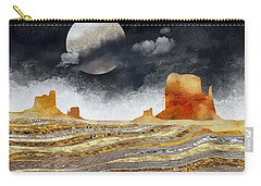 Metallic Desert Carry-all Pouch by Spacefrog Designs