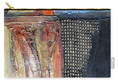 Metallic Fall With Blue Carry-all Pouch