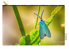 Metallic Forester Moth Carry-all Pouch