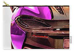 Metallic Heartbeat Carry-all Pouch by Karen Wiles