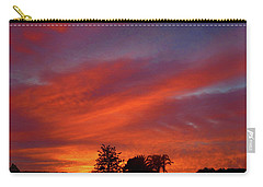 Metallic Sunrise Carry-all Pouch by Mark Blauhoefer