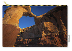 Carry-all Pouch featuring the photograph Metate Arch by Edgars Erglis