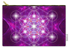 Metatron Cube Mandala Carry-all Pouch