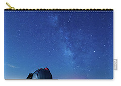 Meteor And Observatory Carry-all Pouch by Jay Stockhaus