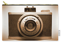 Carry-all Pouch featuring the photograph Meteor Film Camera by Mike McGlothlen