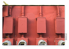 Meter Reader Red 2 Carry-all Pouch