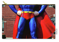 Metropolis - Home Of Superman 001 Carry-all Pouch by George Bostian