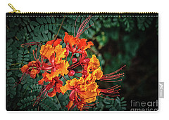 Carry-all Pouch featuring the photograph Mexican Bird Of Paradise by Robert Bales