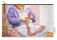 Mexican Flower Carry-all Pouch