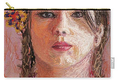 Mexican Girl Carry-all Pouch