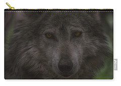 Mexican Grey Wolf Carry-all Pouch
