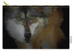 Mexican Grey Wolf Da2 Carry-all Pouch