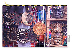 Mexican Masks Carry-all Pouch