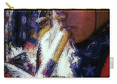 Carry-all Pouch featuring the photograph Mexican Street Musician by Lori Seaman