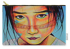 Mexico Dejame Vivir Carry-all Pouch by Angel Ortiz