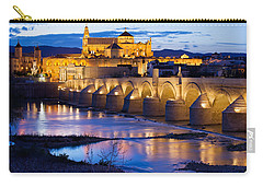 Cathedral Mosque And Roman Bridge In Cordoba Carry-all Pouch