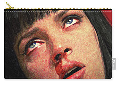 Mia Wallace Carry-all Pouch by Taylan Apukovska