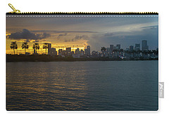 Miami At The Edge Of Twilight Carry-all Pouch