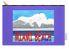 Miami Beach 2016 Carry-all Pouch