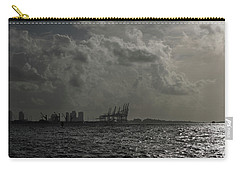 Miami Port At Daybreak Carry-all Pouch