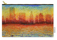 Miami Skyline 5 Carry-all Pouch by Andrew Fare