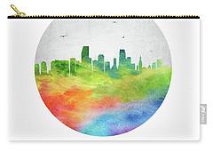 Miami Skyline Usflmi20 Carry-all Pouch by Aged Pixel