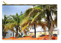 Miami South Beach Ocean Drive 8 Carry-all Pouch