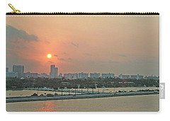 Miami Sunrise Carry-all Pouch