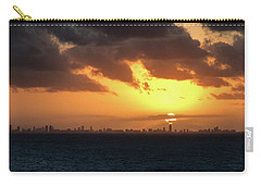 Miami Sunset Carry-all Pouch