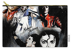 Michael Jackson - King Of Pop Carry-all Pouch