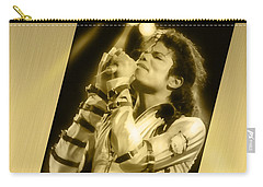 Michael Jackson 24k Gold Carry-all Pouch