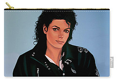 Music King Of Pop Carry-All Pouches