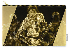 Michael Jackson Gold Carry-all Pouch