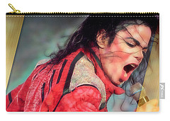 Michael Jackson King Of Pop Carry-all Pouch