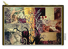 Michelangelo Collage Carry-all Pouch