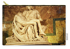 Michelangelo Masterpiece Of A Mother's Love Carry-all Pouch