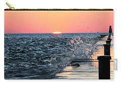 Michigan Summer Sunset Carry-all Pouch by Bruce Patrick Smith