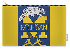 Michigan Wolverines Carry-all Pouch