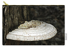 Carry-all Pouch featuring the photograph Michigantree Fungi by LeeAnn McLaneGoetz McLaneGoetzStudioLLCcom