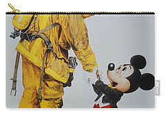 Mickey And The Bravest Carry-all Pouch by Rob Hans