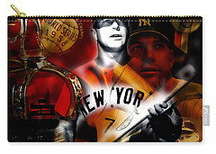 Mickey Mantle Collection Carry-all Pouch by Marvin Blaine