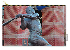 Mickey Mantle Carry-all Pouch by Frozen in Time Fine Art Photography