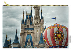 Mickey Mouse Disney House Carry-all Pouch by Nikki McInnes