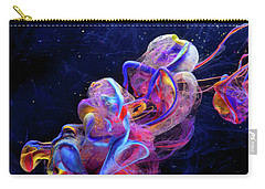 Micro Space - Colorful Abstract Photography Carry-all Pouch